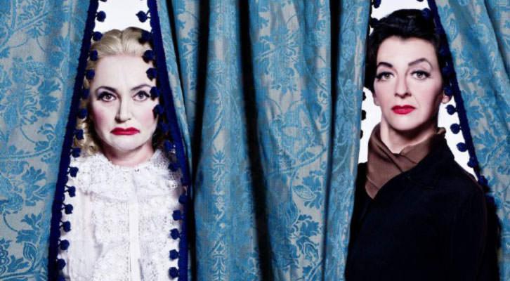Bette & Joan. Imagen cortesía de Teatro Flumen.