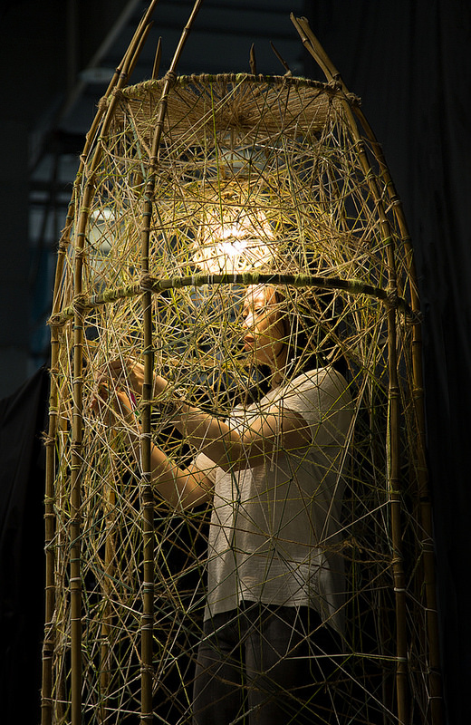 Instalación pasada de Hui-Ying Tsai. Imagen cortesía de 'Enclave'.