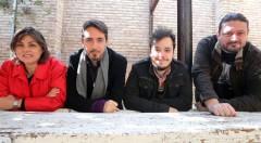 Begoña Siles, Javier Valenzuela, Alexander Lemus y Sergio Mars, en el encuentro del festival del libro Sindokma. Fotografía: MAO.