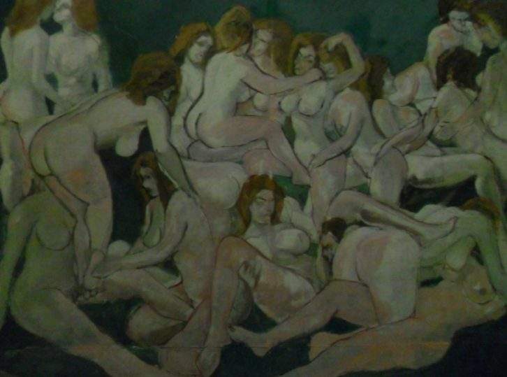 'Harem', de Messa, en su exposición en el MuVIM.