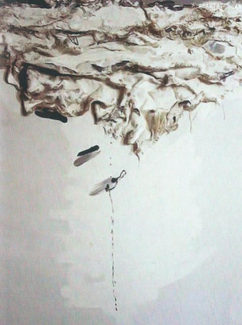 Una de las obras de Alba Cataluña. Imagen cortesía Centro de Documentación de Arte Valenciano Contemporáneo.