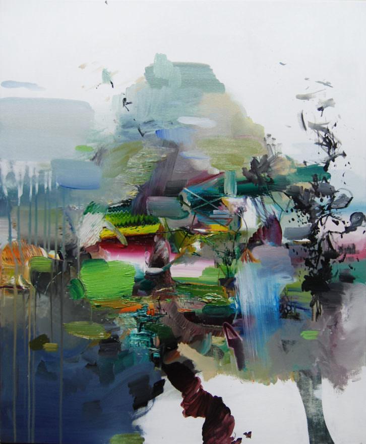 Obra de Miguel Oñate. Imagen cortesía de Galería Thema.