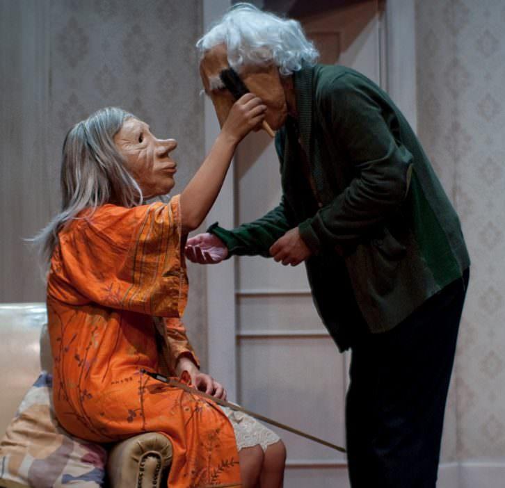 'André y Dorine', de Kulunka Teatro. Imagen cortesía de Espai Rambleta.