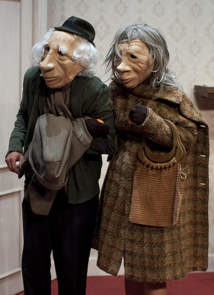 André y Dorine, de Kulunka Teatro. Imagen cortesía de Espai Rambleta.