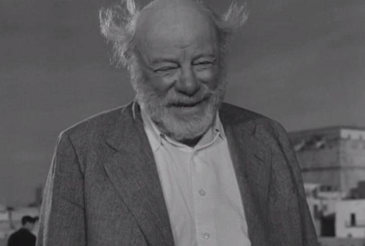 Edmund Gwenn en 'Calabuch', de Luis García Berlanga.
