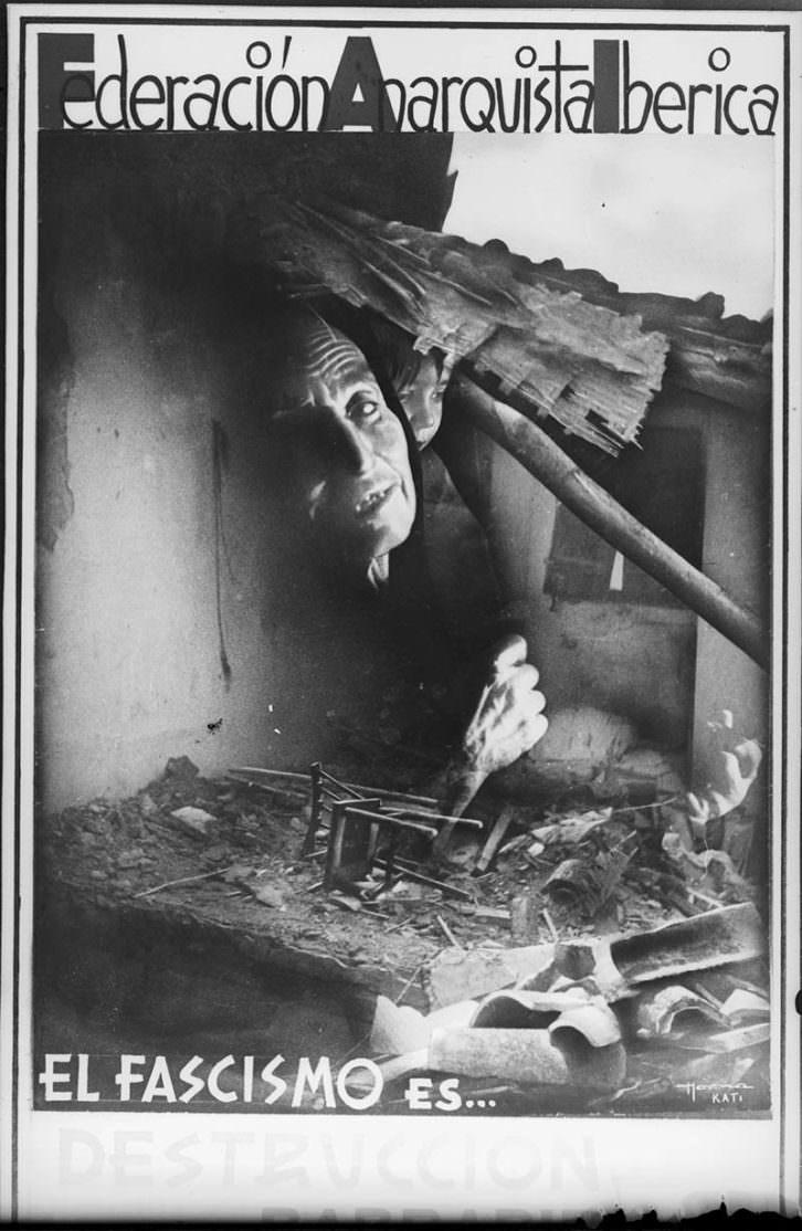 Kati Horna. Guerra y Revolución (1936-1939). Imagen cortesía de Centre del Carme.