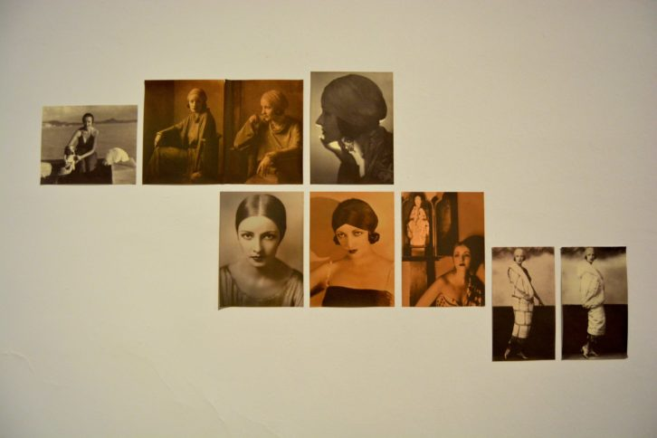 Fotografías personales de Natacha Rambova cedidas por su ahijada María Salomé Juaneda Pujol. Fotografía: Jose Ramón Alarcón.