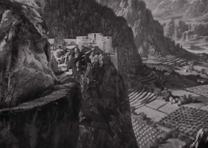 El Shangri-La que aparece en la película 'Horizontes perdidos', de Frank Capra.