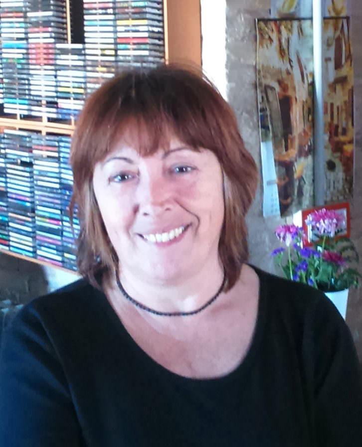 Lola Andrés. Imagen cortesía de la autora.