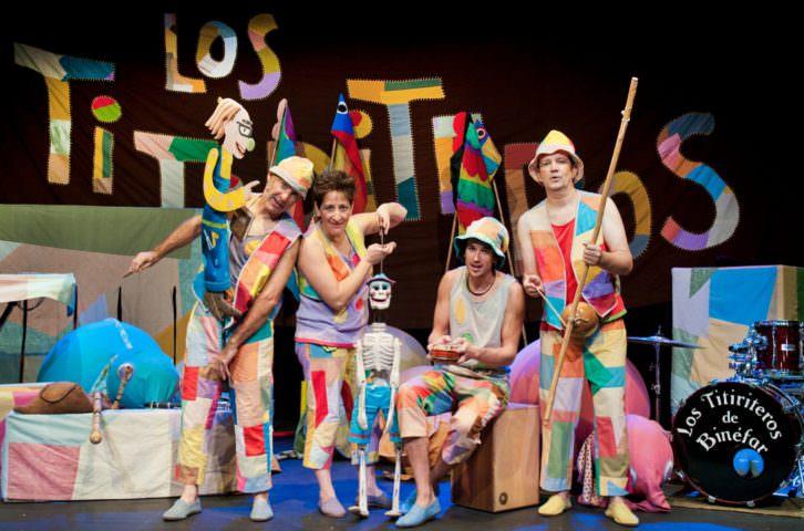Los Titiriteros de Binéfar. Imagen cortesía de Menut Festival!!!