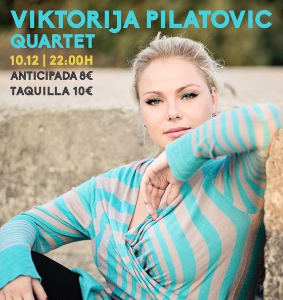Viktorija Pilatovic en el ciclo Blau Tímbric de Hat Gallery en Veles e Vents. Imagen cortesía de la organización.