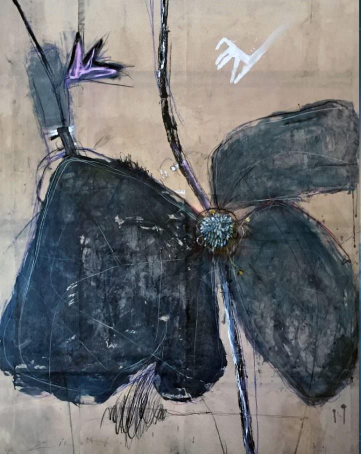 Obra de Claudio Zirotti en la Galería Acuda de Godella. Imagen cortesía del autor.
