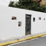 Pauta: Mislata, 2016 Acción participativa. Fotografía digital. Intervención sobre muro. Papel y cola Dimensiones variables