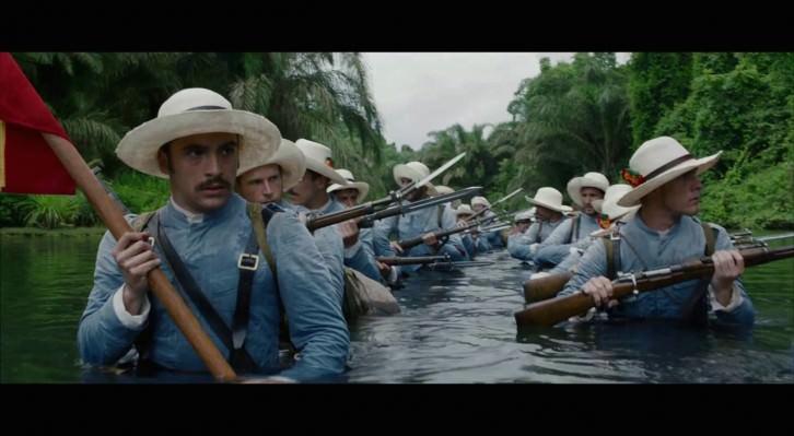 El actor Ricardo Gómez durante un instante de '1898. Los últimos de Filipinas', de Salvador Caro. Fotografía cortesía de la productora.