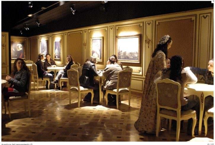 Salón ilustrado de la Exposición Permanente. Imagen cortesía del MuVIM.