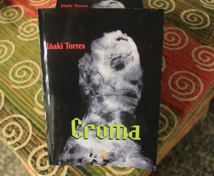Cubierta de la novela 'Croma', de Iñaki Torres.