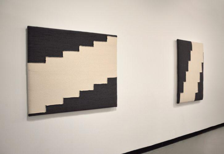 Obras de la exposición 'Estudios para objetos futuros', de Ana Esteve Llorens. Imagen cortesía de la autora.