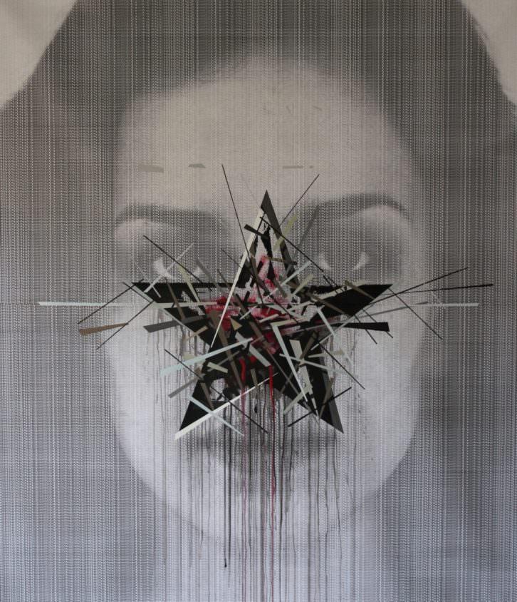 Obra de Andreas Von Gehr. Imagen cortesía de Mr. Pink.