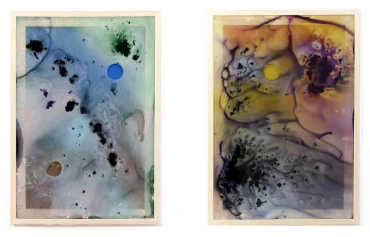 Obras de Cristina Gamón.