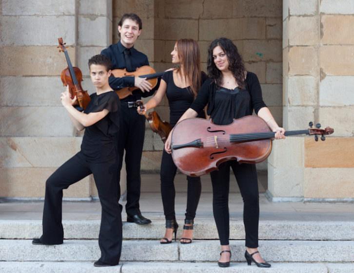 Cuarteto Arpeggio. Imagen cortesía de los autores.