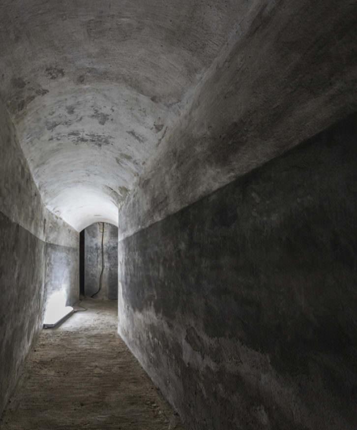 Refugio antiaéreo de Bombas Gens. Fotografía de Daniel Rueda.