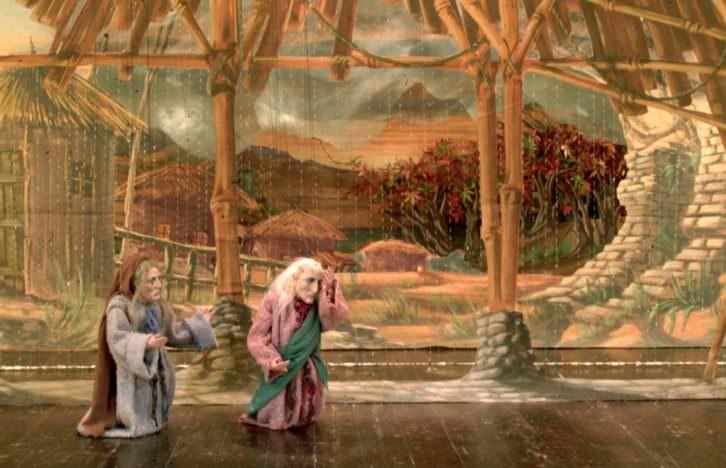 Philemone e Bauci. Imagen cortesía de Les Arts.