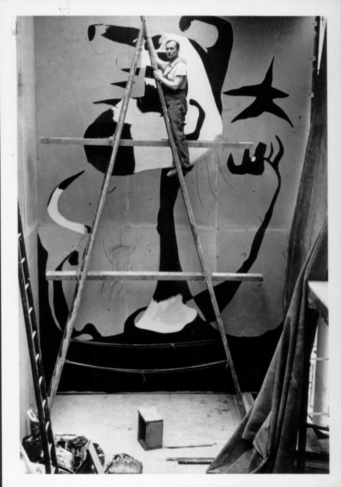 Joan Miró. Imagen cortesía de Galería Mayoral.
