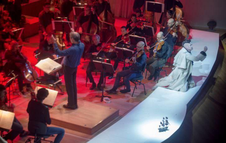 El holandés errante. Fotografía de Eva Ripoll cortesía del Palau de la Música.