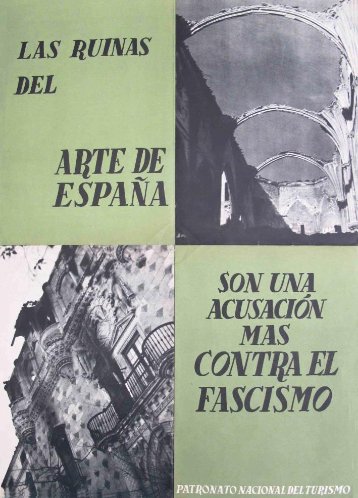 Las ruinas del arte de España. Imagen cortesía de Galería Mayoral.