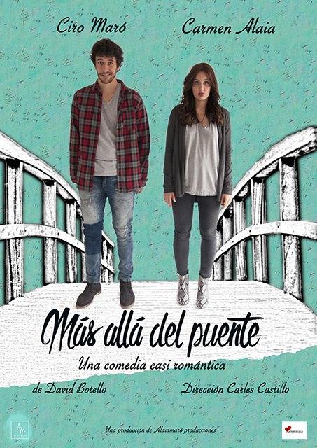 Cartel de 'Más allá del puente'. Imagen cortesía de Zircó.