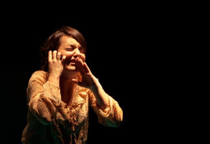 Escena de 'Nora'. Imagen cortesía de Sala Russafa.
