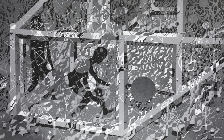 Obra de Omega TBS. Imagen cortesía de Plastic Murs.