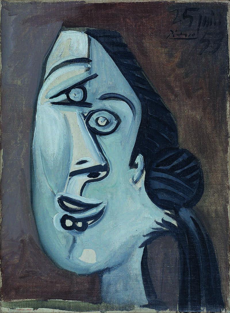 Head of Women, de Pablo Picasso. Imagen cortesía de Galería Mayoral.