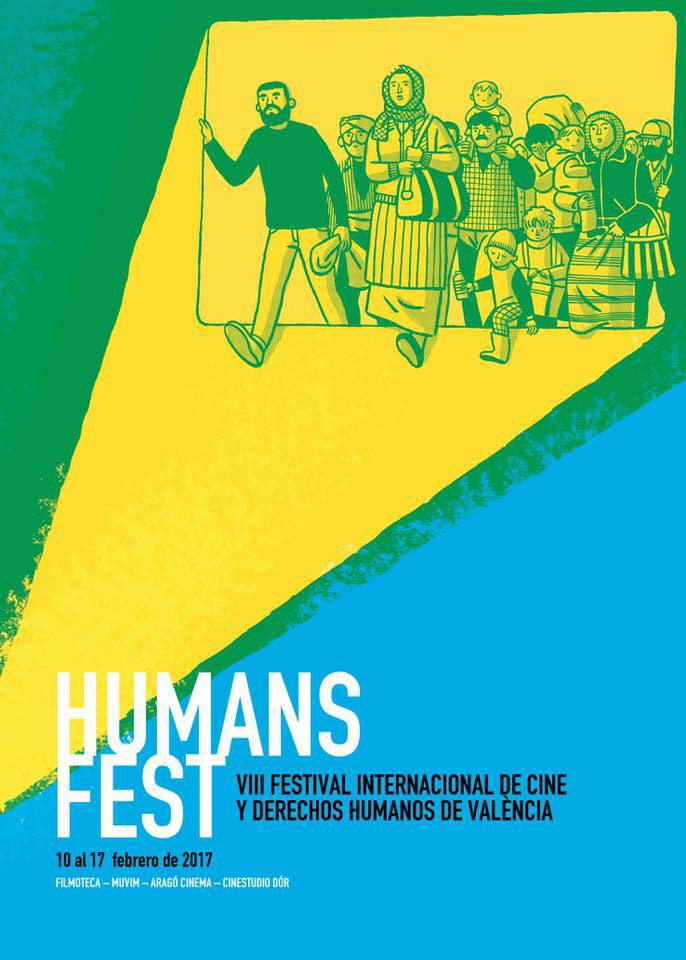 Cartel de Humans Fest.