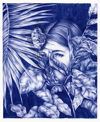 Obra de Nuria Riaza. Imagen cortesía de Galería Pepita Lumier.