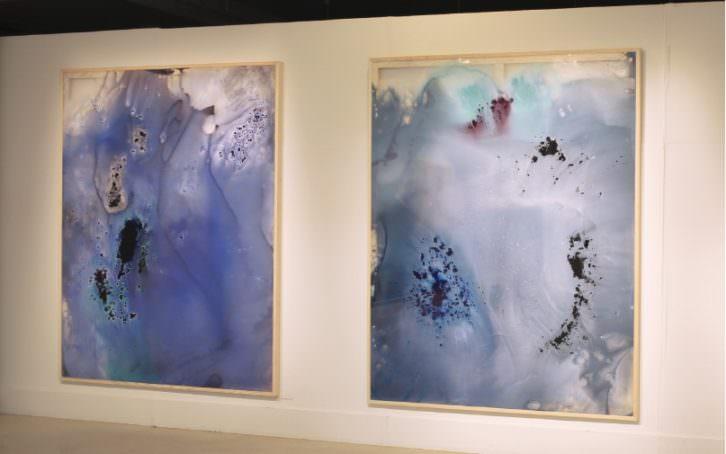 Obras de Cristina Gamón. Imagen cortesía de la autora.