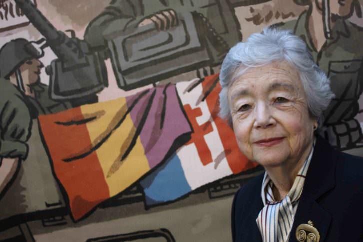 Elisa Ruiz en el Institut Français de Valencia. Fotografía: Max Randy.