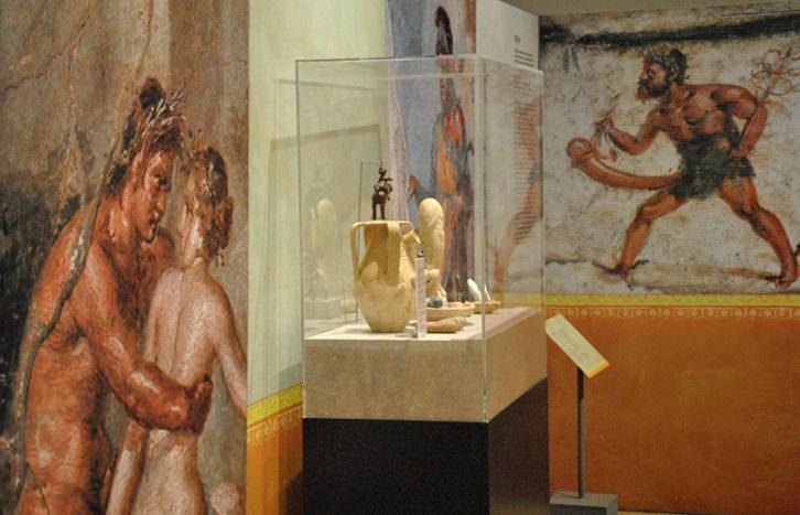Imagen de la exposición. Cortesía del Museo de Prehistoria.