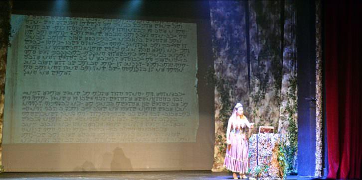 Escena de Gisela y el libro mágico. Fotografía: Malva.