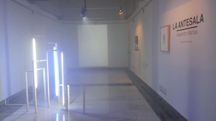 Vista de la exposición 'La antesala', de Alejandro Mañas. Imagen cortesía del artista.