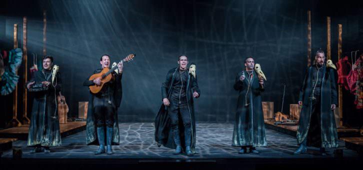 Cervantina, de Ron Lalá. Fotografía de David Ruiz cortesía de Teatro Talía.