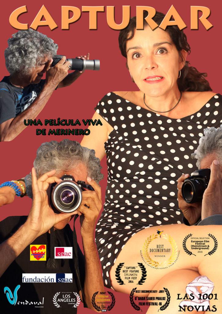Cartel de la película 'Capturar', de Fernando Merinero.