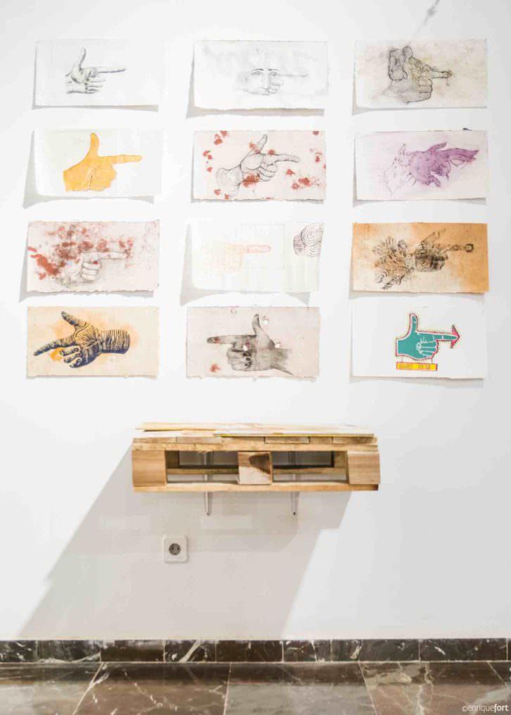 Obra de alumnos de la Escuela de Arte José Nogué. Imagen cortesía de la UPV.