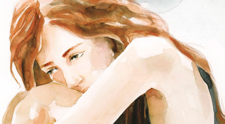 Detalle de la portada del libro Seré frágil.