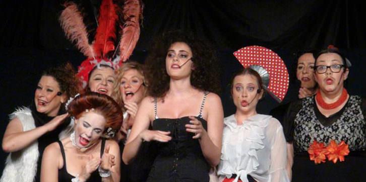 Escena de 'On està Mercé? Imagen cortesía de Sala Russafa.