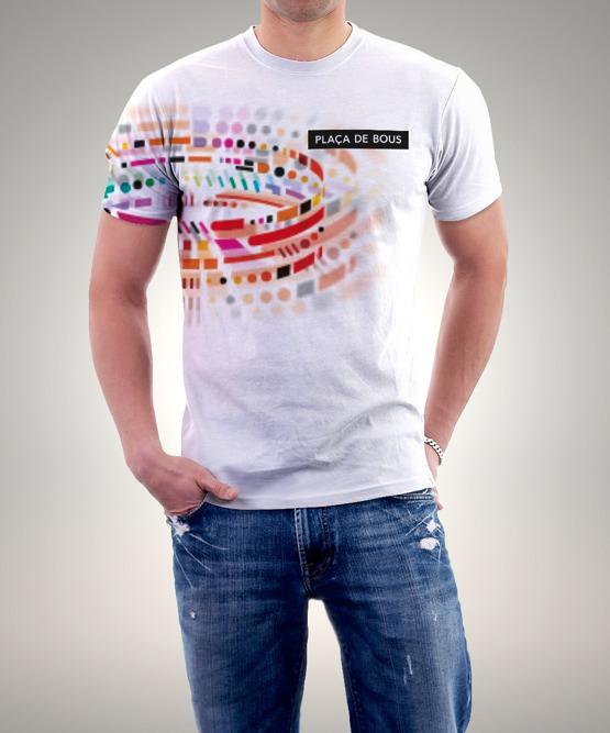 Diseño para camisetas de la marca de la Plaça de Bous de Valencia. Imagen cortesía de Estudio Gimeno Gràfic.