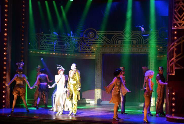 Escena de Cabaret en el Teatro Olympia. Fotografía: Malva.