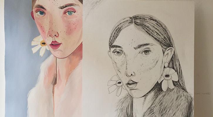 Obras de María Herreros.