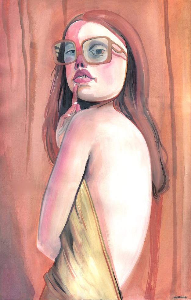 Obra de María Herreros. Imagen cortesía de Pepita Lumier.