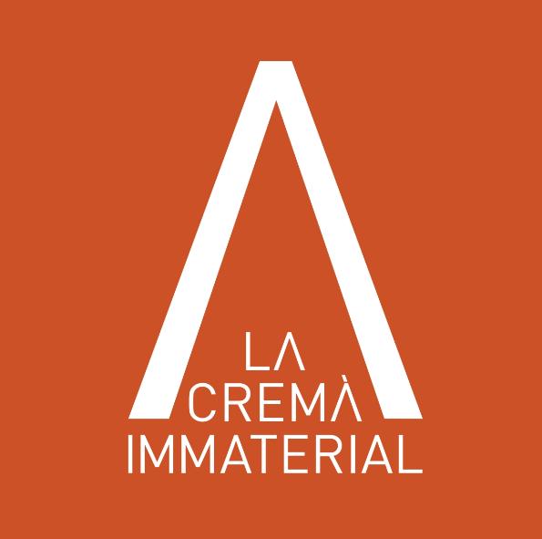 Logo de la Crema Immaterial. Imagen cortesía de La Nau de la Universitat de València.